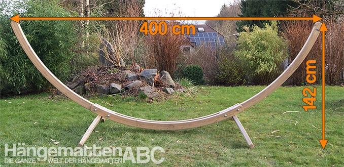 Länge: 400 cm, Höhe: 142 cm