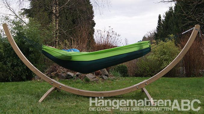 Amazonas Silk Traveler Hängematte grün