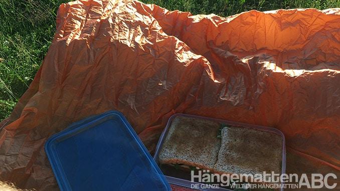 hamaka als Picknickdecke