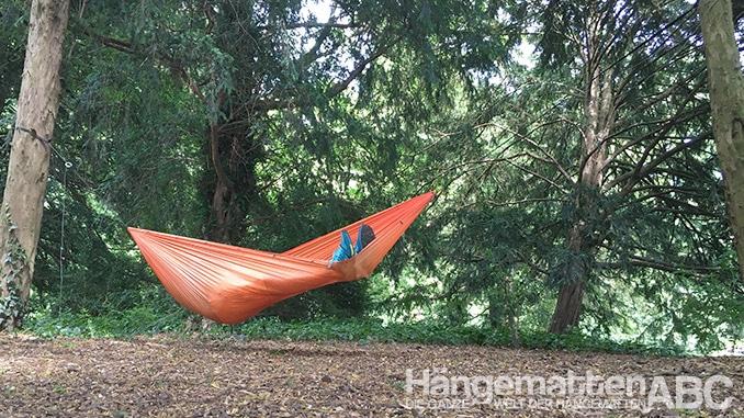 Hamaka Test im Park