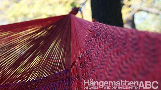 Hammock Art Netzhängematte Knoten