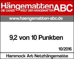 Testsiegel Hammock Art