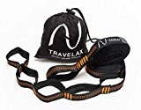 Hängemattenbefestigung von Travelax mit 11 Schlaufen