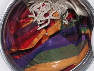 Hängematte in der Waschmaschine waschen