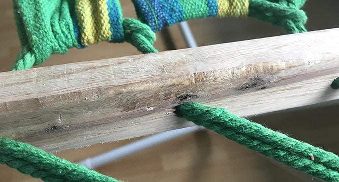 Lidl Stabhängematte Holzstab
