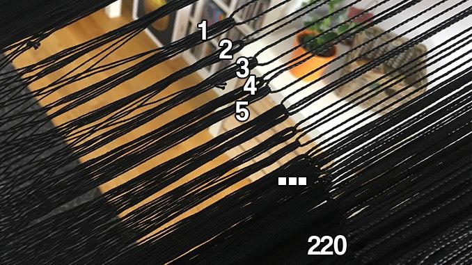 Aufhängeschnüre der Hamacama Heaven: 220 Stück