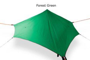 Tentsile Baumzelt Stealth mit Regenschutz