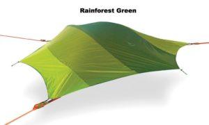 Tentsile Baumzelt Stingray mit Regeschutz